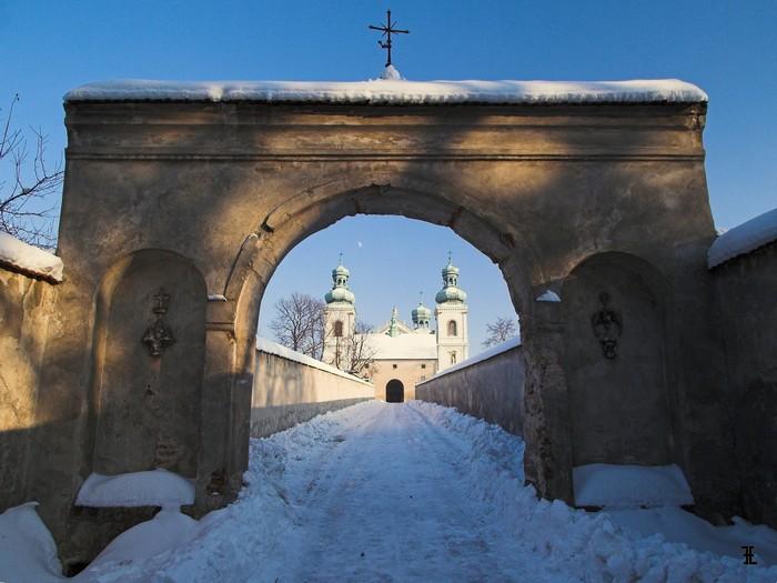 Srebrna Góra w zimie