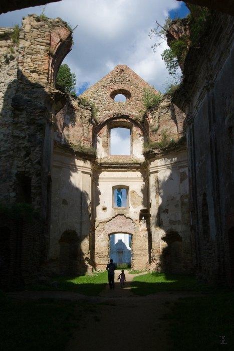 Ruiny Klasztoru Kamedułów Bosych w Zagórzu