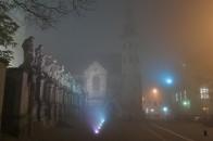 Kościół św. Piotra i Pawła we mgle