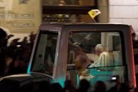 Benedykt XVI na Rynku w Krakowie